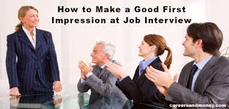 first interview good impression