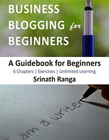 business blogging for beginners cover