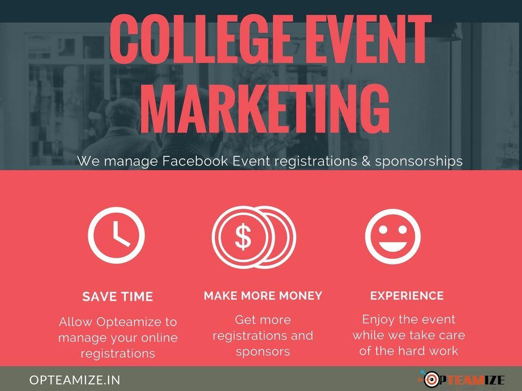 college event marketing advantages